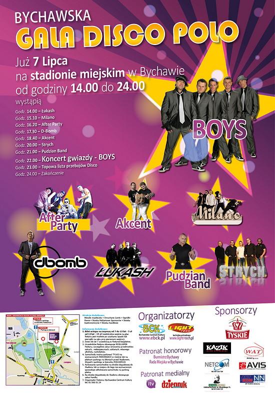 2013-07-01 gala disco polo plakat